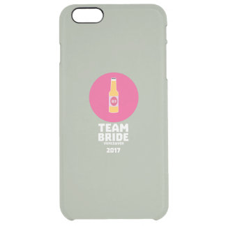 Capa Para iPhone 6 Plus Transparente Noiva Vancôver da equipe Henparty 2017 Zkj6h