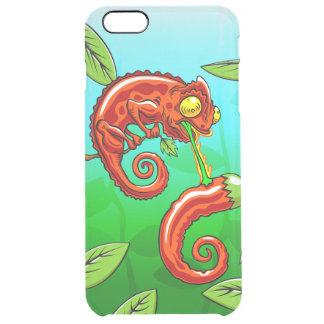 Capa Para iPhone 6 Plus Transparente o amor é cego - falha do camaleão