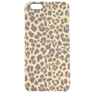Capa Para iPhone 6 Plus Transparente Padrões da pele animal do impressão do leopardo