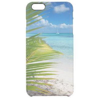 Capa Para iPhone 6 Plus Transparente Praia de Domenicana