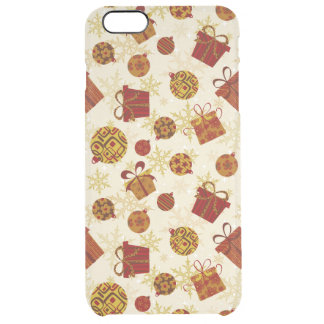 Capa Para iPhone 6 Plus Transparente Presentes de época natalícia & enfeites de natal