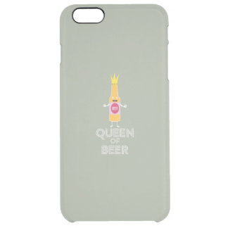 Capa Para iPhone 6 Plus Transparente Rainha da cerveja Zh80k