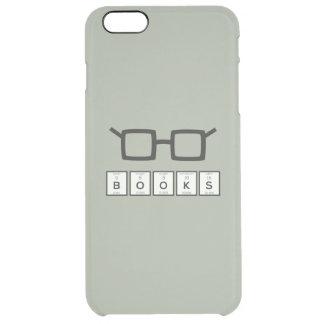 Capa Para iPhone 6 Plus Transparente Registra os vidros Zh6zg do nerd do elemento