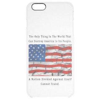 Capa Para iPhone 6 Plus Transparente Uma nação dividida