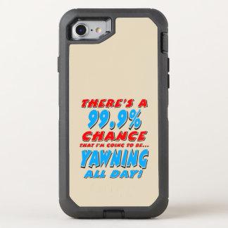 Capa Para iPhone 8/7 OtterBox Defender 99,9% BOCEJAR O DIA INTEIRO (preto)