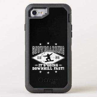 Capa Para iPhone 8/7 OtterBox Defender A DESCIDA JEJUA! (branco)