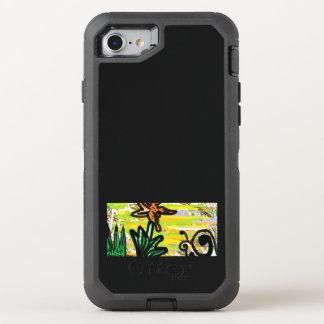 Capa Para iPhone 8/7 OtterBox Defender A vida de um lírio e de um caracol de tigre