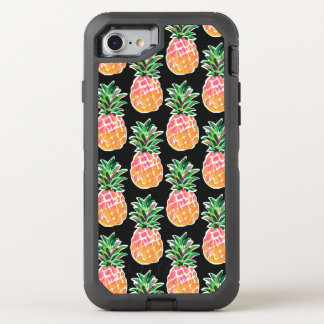 Capa Para iPhone 8/7 OtterBox Defender Abacaxi havaiano tropical alegre