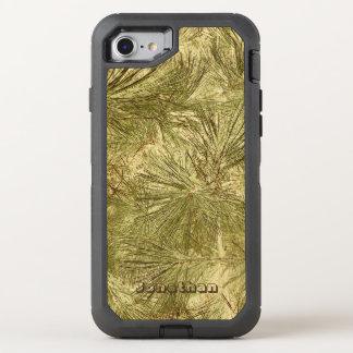 Capa Para iPhone 8/7 OtterBox Defender Agulhas verdes abstratas sua camuflagem conhecida