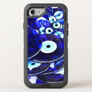 Capa Para iPhone 8/7 OtterBox Defender Amuletos azuis do olho mau