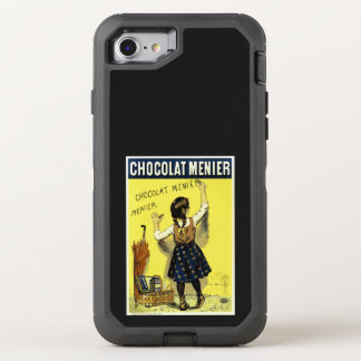 Capa Para iPhone 8/7 OtterBox Defender Anúncio de Menier do chocolate