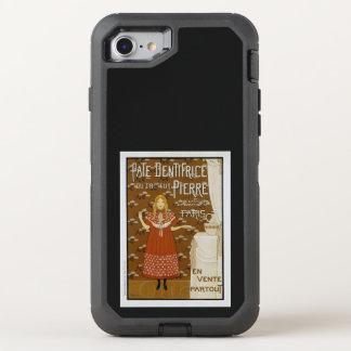 Capa Para iPhone 8/7 OtterBox Defender Anúncio francês do dentífrico de Nouveau da arte