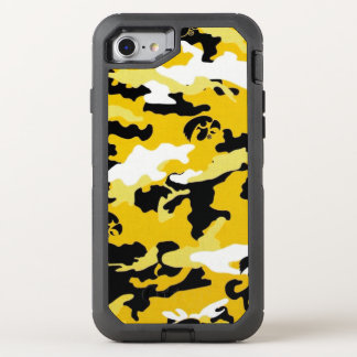 Capa Para iPhone 8/7 OtterBox Defender As forças armadas amarelas do exército de Como da