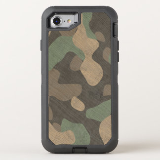 Capa Para iPhone 8/7 OtterBox Defender As forças armadas da floresta do telefone camuflam