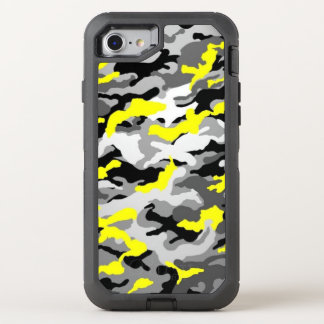 Capa Para iPhone 8/7 OtterBox Defender As forças armadas pretas amarelas do exército de