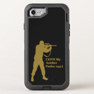 Capa Para iPhone 8/7 OtterBox Defender Atirador furtivo da solda do ouro