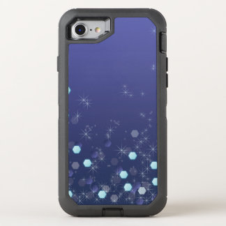 Capa Para iPhone 8/7 OtterBox Defender Azul de oceano profundo estrelado