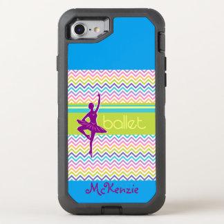 Capa Para iPhone 8/7 OtterBox Defender Balé do Zag do fecho de correr