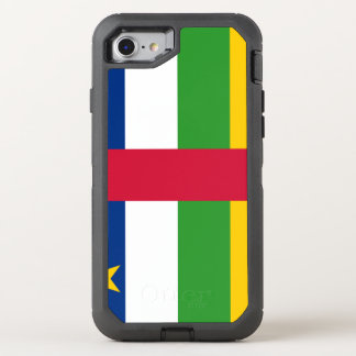 Capa Para iPhone 8/7 OtterBox Defender Bandeira de Central African Republic