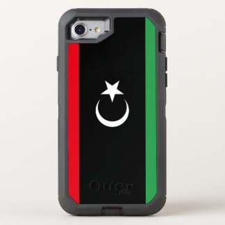 Capa Para iPhone 8/7 OtterBox Defender Bandeira de Líbia