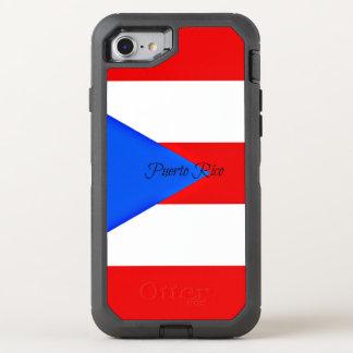 Capa Para iPhone 8/7 OtterBox Defender Bandeira de Puerto Rico