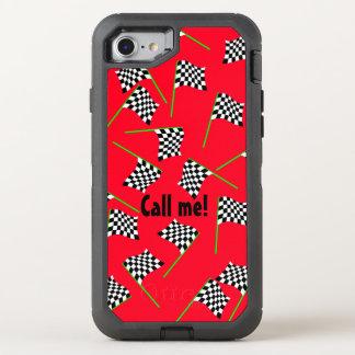 Capa Para iPhone 8/7 OtterBox Defender Bandeiras da raça pelos Feliz Juul Empresa