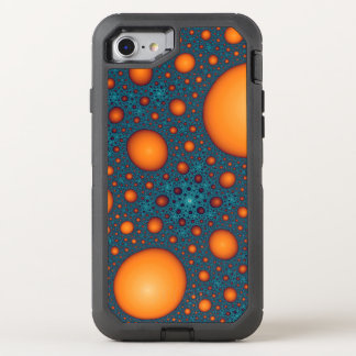 Capa Para iPhone 8/7 OtterBox Defender Bolhas alaranjadas