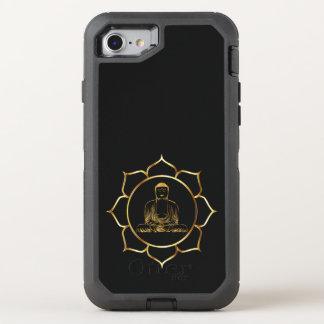 Capa Para iPhone 8/7 OtterBox Defender Buddha que faz o design espiritual da meditação da