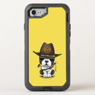 Capa Para iPhone 8/7 OtterBox Defender Caçador bonito do zombi do filhote de cachorro do