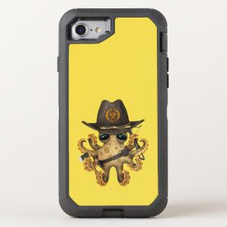 Capa Para iPhone 8/7 OtterBox Defender Caçador bonito do zombi do polvo do bebê