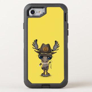 Capa Para iPhone 8/7 OtterBox Defender Caçador do zombi dos alces do bebê