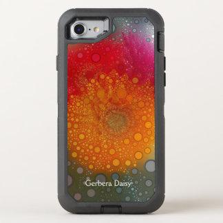 Capa Para iPhone 8/7 OtterBox Defender Caixa alaranjada vermelha de Otterbox do pop art