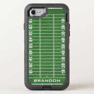 Capa Para iPhone 8/7 OtterBox Defender Caixa da lontra do design do campo de futebol