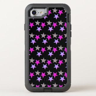 Capa Para iPhone 8/7 OtterBox Defender Caixa roxa da noite da estrela
