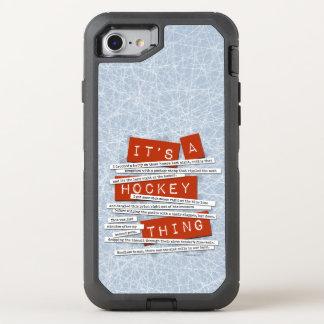 Capa Para iPhone 8/7 OtterBox Defender Calão do hóquei