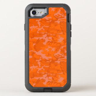 Capa Para iPhone 8/7 OtterBox Defender Camo alaranjado