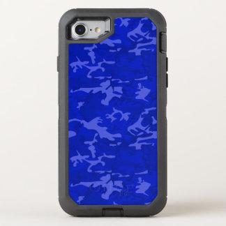Capa Para iPhone 8/7 OtterBox Defender Camo azul