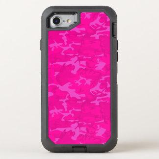 Capa Para iPhone 8/7 OtterBox Defender Camo cor-de-rosa