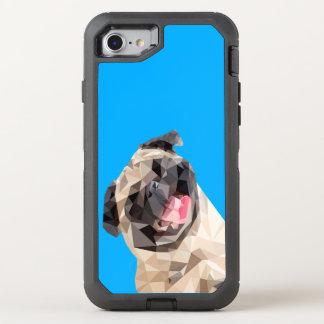 Capa Para iPhone 8/7 OtterBox Defender Cão bonito dos espanadores