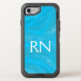 Capa Para iPhone 8/7 OtterBox Defender Capa de telefone azul Pastel do RN do redemoinho