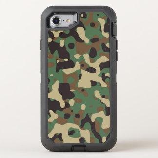 Capa Para iPhone 8/7 OtterBox Defender Capa de telefone da camuflagem
