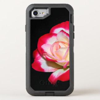 Capa Para iPhone 8/7 OtterBox Defender Capa de telefone da rosa vermelha