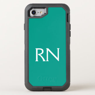 Capa Para iPhone 8/7 OtterBox Defender Capa de telefone do RN de turquesa