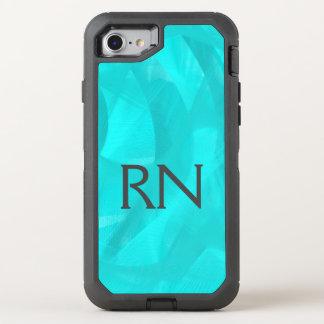 Capa Para iPhone 8/7 OtterBox Defender Capa de telefone do RN do redemoinho de turquesa