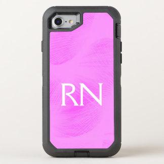 Capa Para iPhone 8/7 OtterBox Defender Capa de telefone do RN do redemoinho do rosa