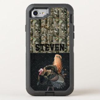 Capa Para iPhone 8/7 OtterBox Defender Capa de telefone personalizada caça de Camo