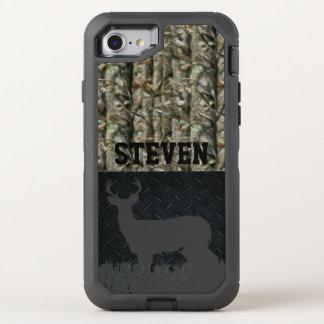 Capa Para iPhone 8/7 OtterBox Defender Capa de telefone personalizada caça dos cervos de