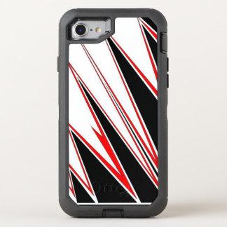 Capa Para iPhone 8/7 OtterBox Defender capa de telefone preta e vermelha do móbil da