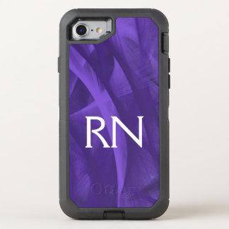 Capa Para iPhone 8/7 OtterBox Defender Capa de telefone roxa do RN do redemoinho