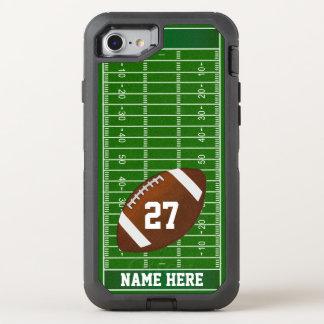 Capa Para iPhone 8/7 OtterBox Defender Capas de telefone, NOME e NÚMERO do futebol
